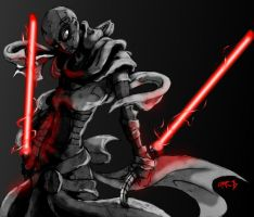 T.N.H. Asajj Ventress by 6-fingers