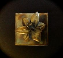 Steel Orchid Box by HeathenLeFay