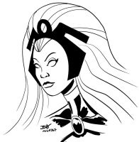 Storm Sketch by sirandal