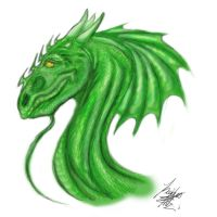 Green One by RogueDraken