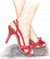heels shoes by naama345