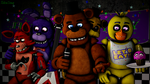 Our Family Photo!-Freddy Fazbear(1st Piece) by TalonDang