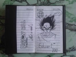 BookDrawing-DRAGONBALL_EVOLITION=01 by eduaarti