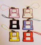 Rainbow DS Phone charms by Berri-Blossom