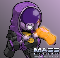 Mass Effect Tali by desfunk