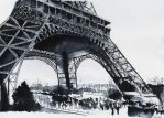 For sale original - Eiffel Tower - Watercolor by nicolasjolly
