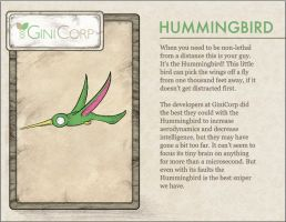 GiniCorp - Hummingbird by Tydar