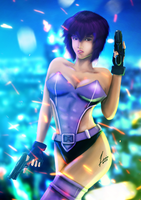 GITS:Major Kusanagi Motoko by 13nin