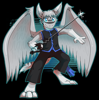 Commission - The Fencing Demon by raizy