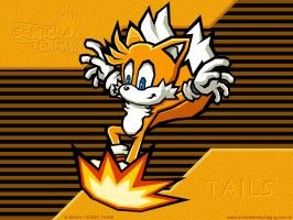 Tails - Sonic Battle by aha-mccoy
