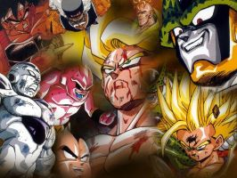 Dragon Ball Z Series by cyazian