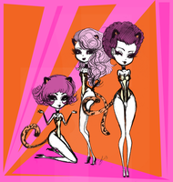 Josie and the Pussycats by VIOletLIPS