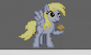 Minecraft: Derpy Hooves by DarkShine-Bunny