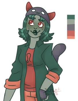 Nepeta Color Palette Thingy by sunset-waters