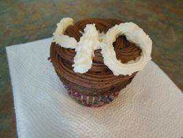 Chocolate 40 Cupcake by FunkyK38
