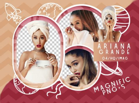 +Pack Png - Ariana Grande by Magnific-Pngs