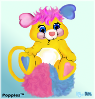Popples by Endlou