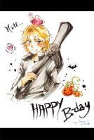 Happy bloody Bday by Goku-chan
