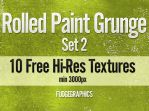 Rolled Paint Textures Set 2 by fudgegraphics