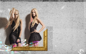 Wallpaper avril lavigne by d3bbyeglitter