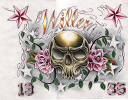 willem color by WillemXSM