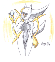 Arceus-Orb Of Life by Latiar027