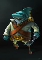 Aye Captains ! Shark by 6Noodle9