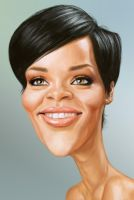 Rihanna by markdraws