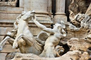 Rome - Trevi Fountain 5 by Lauren-Lee