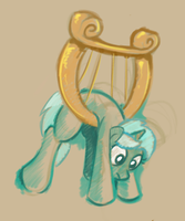 Hanging Lyra by GSphere