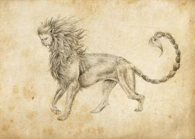 Manticore by Amadoodles