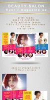 Beauty Salon Colorful Flyer by PrintDesign