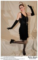 Flapper Dancing.2 by Della-Stock