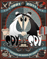 Spy vs. Spy 50 by DomNX
