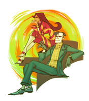 Psychonauts by angrytalic