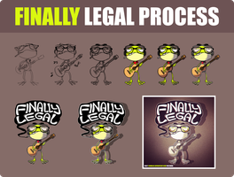 Process: Finally Legal by Comraxe