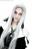 Burning inside - Sephiroth by Yukilefay