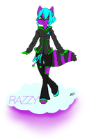 Razzy - Winter Rave - Pagedoll by CrypticGrin