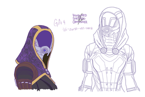 Tali'Zorah vas Normandy by CommanderLavellan