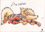 Arcanine FINISHED by xXZackataXx