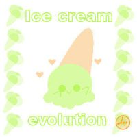 ice-cream evolution by LouBerry
