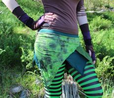 Green Forest Faery Skirt by Faeriegem
