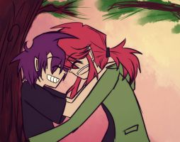 rc9gn:ETN: The smell of pine and his smile.. by arrival-layne