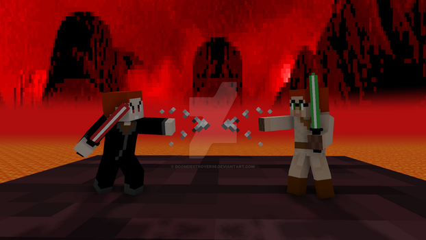 Sibling Rivalry Jedi Edition by Doomdestroyer98