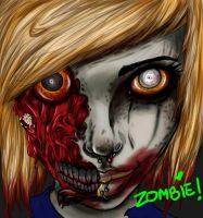 Zombie Me by HellAndroid