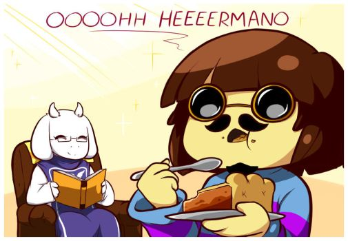 Quicklag/ the best pie of Undertale by Ransaros