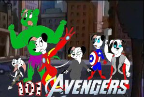 101 Avengers by Trey-Vore