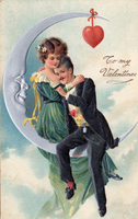 Valentine Moon Couple by SolStock