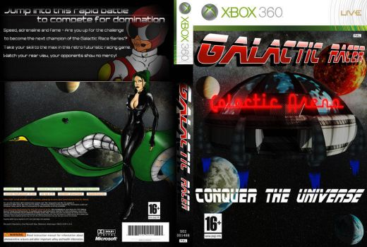 Galacticracer Game Cover Design by Daiiichirou