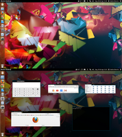 Colorful Desktop by Hyarmenadan